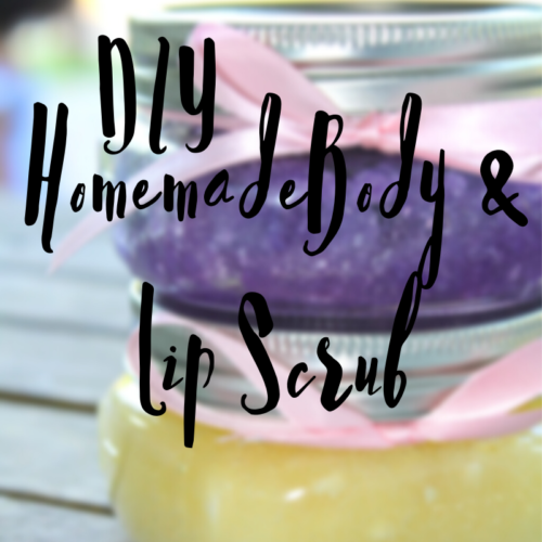 DIY Mothers Day Body & Lip Scrub